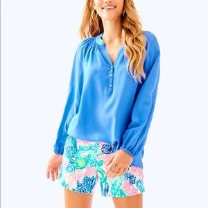Lilly Pulitzer Elsa blouse m